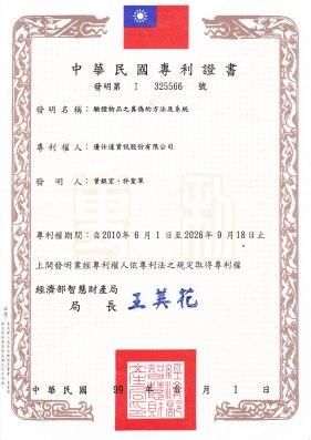 325566台灣專利