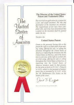 美國專利封