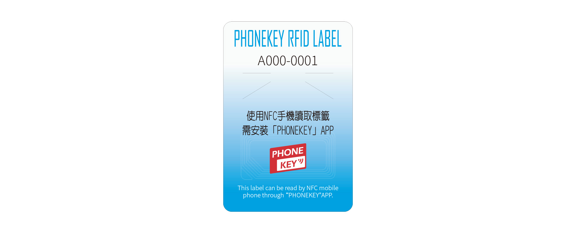 公版RFID防偽標籤